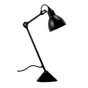 lampe gras n205 bordlampe i mat sort